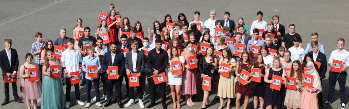 Verabschiedung der Klassen 10 an der Leni-Valk-Realschule in Goch